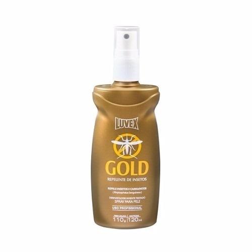 Luvex Gold Repelente de Insetos Spray 120ml