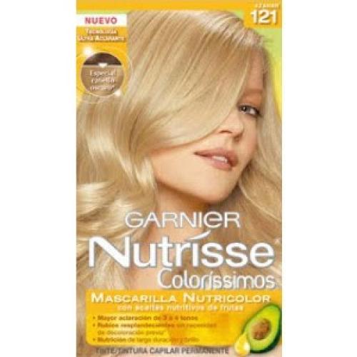 Tintura Garnier Nutrisse Coloríssimos - Louro Ultra Claro Bege 121