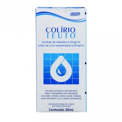 COLÍRIO TEUTO CX 20ML