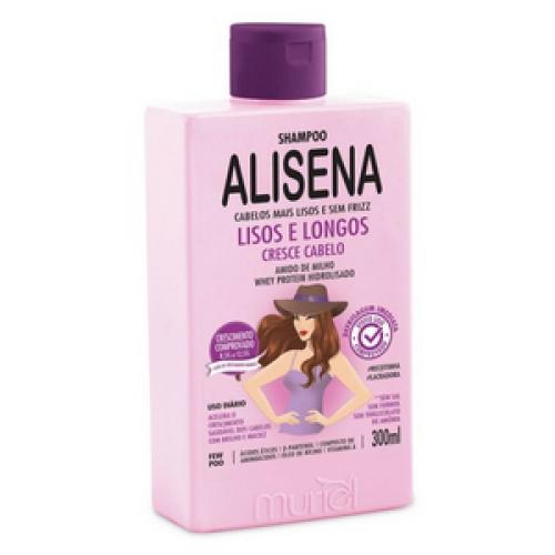 Shampoo Alisena Lisos e Longos Cresce Cabelo Muriel 300ml