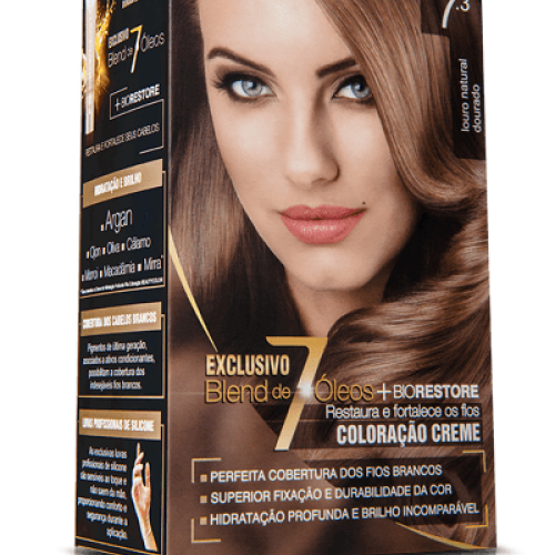 TINTURA CREME BEAUTY COLOR 7.3 LOURO DOURADO