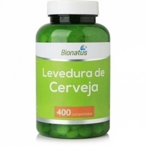 LEVEDURA DE CERVEJA BIONATUS 400 COMPR