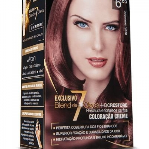 TINTURA CREME BEAUTY COLOR 6.65 ACAJU SENSATION