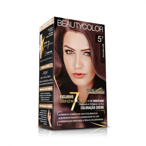 TINTURA CREME BEAUTY COLOR 5.7 CHOCOLATE CAFÉ