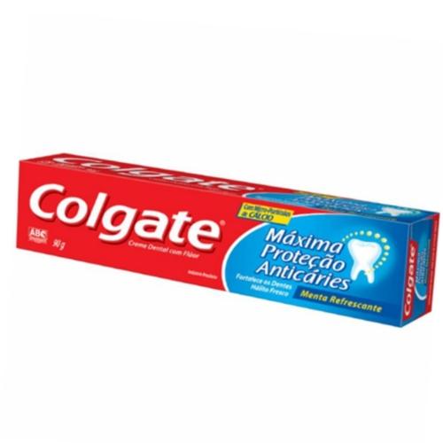 Creme Dental Colgate Máxima Proteção Anticaries com 90g