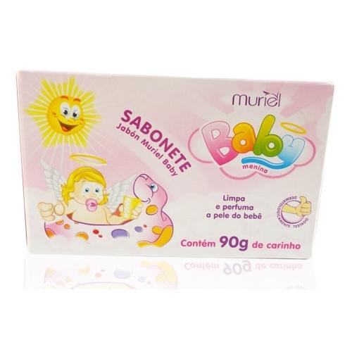 SABONETE MURIEL BABY MENINA 90GR