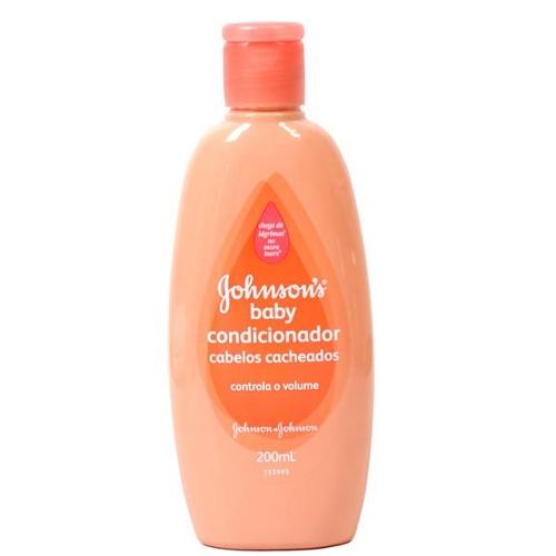 Condicionador Johnsons Cabelos Cacheados 200ml