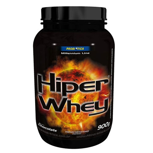 Hiper Whey Probiotica Sabor Chocolate com 900g