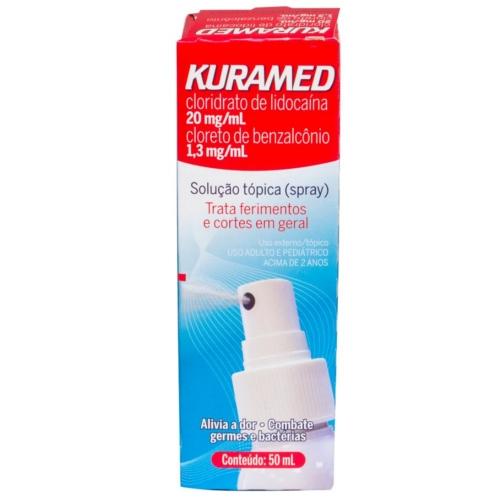 Antisséptico Kuramed Spray 50ml