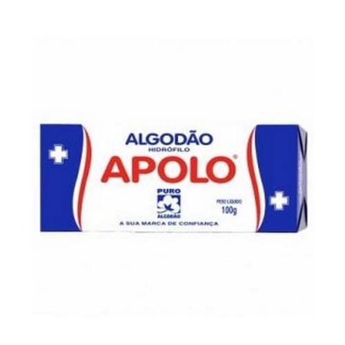 Algodão Hidrofilo Apolo 100g