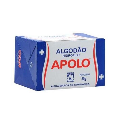 Algodão Hidrofilo Apolo 50g