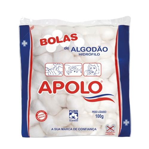 ALGODÃO APOLO BOLAS 100GR