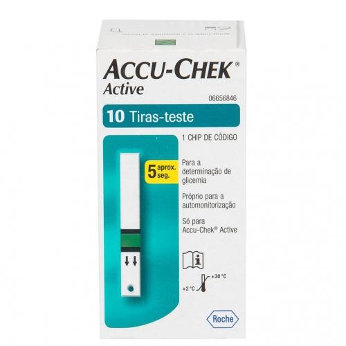 TIRAS ACCU-CHEK 10 UNID