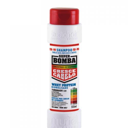Super Bomba Shampoo Cabelos Secos, Muito Secos e Crespos 300ml Muriel