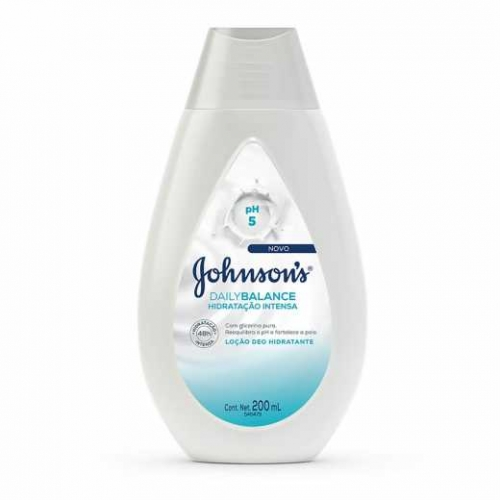 LOÇÃO HIDRATANTE JOHNSON'S DAILY BALANCE 200ML