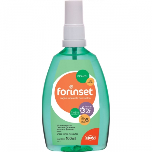 Forinset Repelente Infantil Spray 100ml