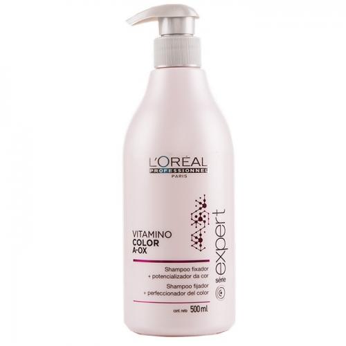 L'Oréal Shampoo Fixador + Potencializador da Cor Vitamino Color A-OX 500ml