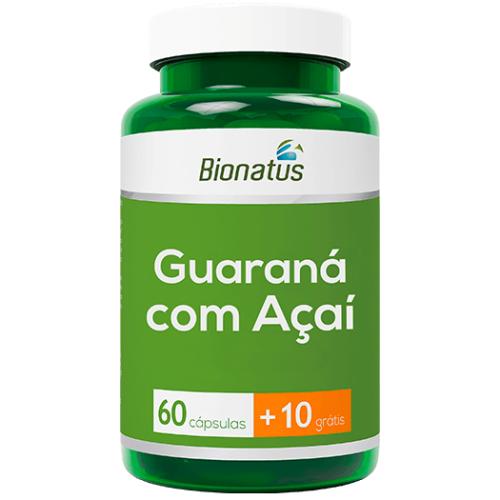 GUARANÁ C/ AÇAÍ BIONATUS 70 CÁPS