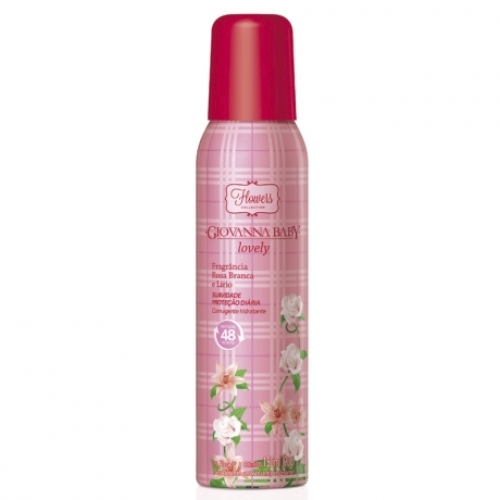 Desodorante aerosol Giovanna Baby Lovely 150 ml