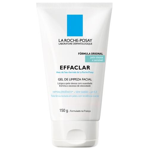 La Roche-Posay Effaclar Gel de Limpeza Facial Pele Oleosa e Sensível 150g