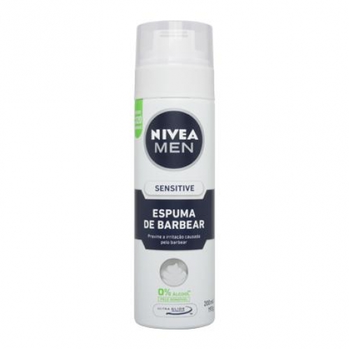 ESPUMA DE BARBEAR NIVEA SENSITIVE 200ML