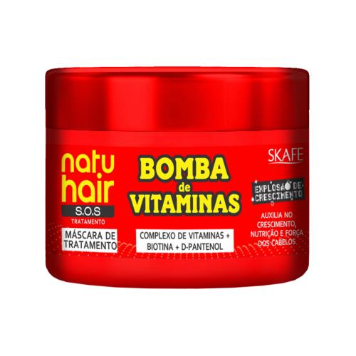 Máscara Bomba de Vitaminas Natuhair SKAFE 350g
