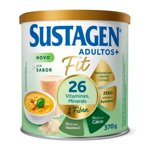 SUSTAGEN ADULTOS + FIT S/ SABOR 370G