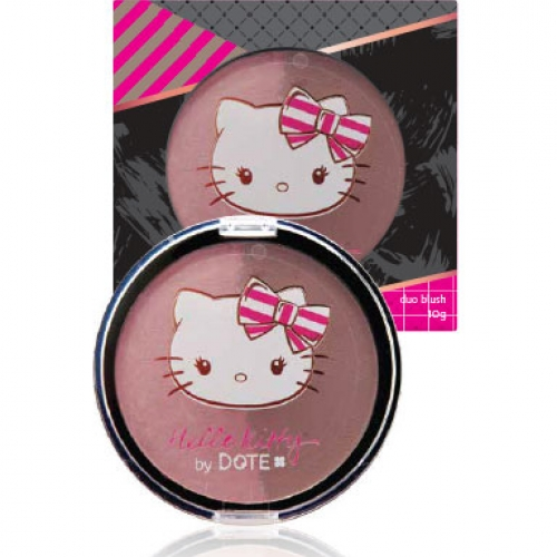 DUO BLUSH HELLO KITTY PÃO DE MEL 10g