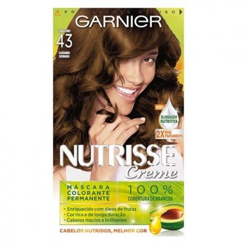 TINTURA GARNIER NUTRISSE 43 CAPUCCINO