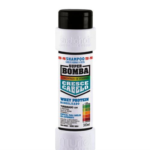 Super Bomba Shampoo Cabelos Normais a Seco 300ml Muriel
