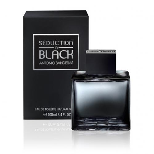 Perfume SEDUCTION IN BLACK Antonio Banderas - 100ml