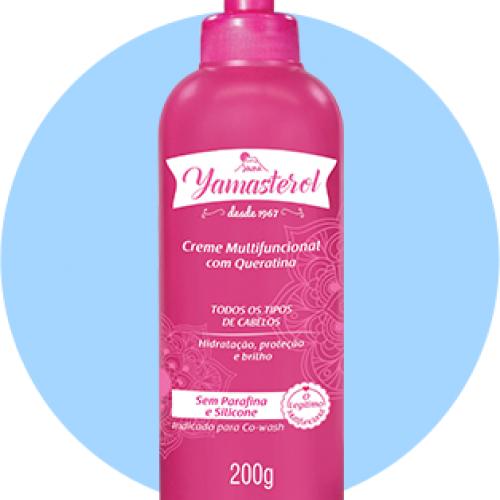 Creme Multifuncional Queratina Yamasterol 200g