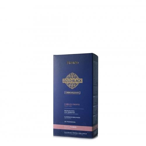 Amend Gold Black Creme Alisante Cabelos Crespos – Flores