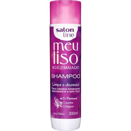 SHAMPOO MEU LISO #DESMAIADO SALON LINE 300ml