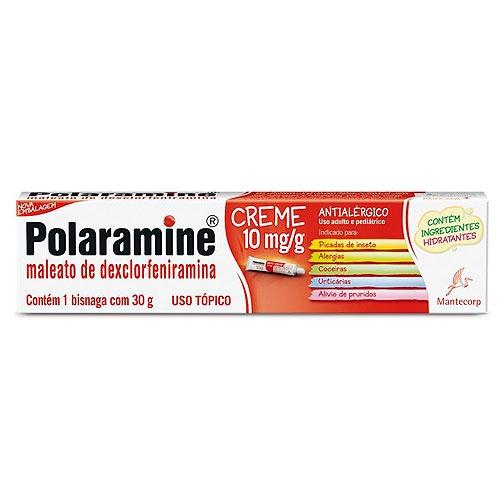 POLARAMINE 10MG CREME 30G