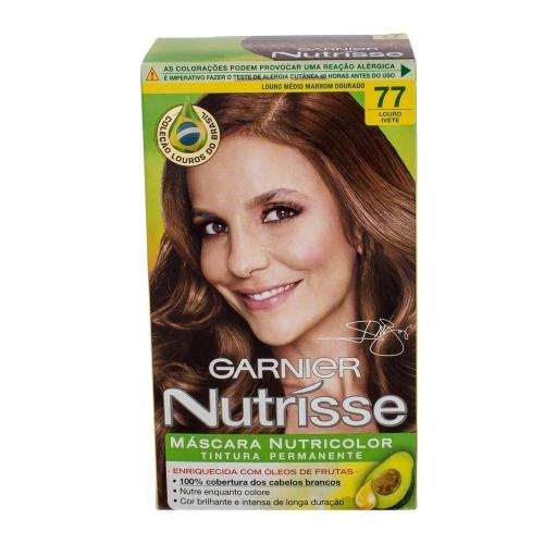 Coloração Garnier Nutrisse 77 Louro Ivete