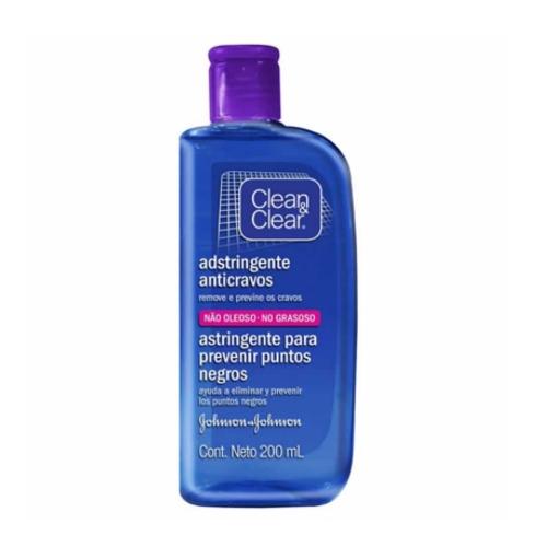 ADSTRINGENTE ANTI-CRAVOS CLEAN E CLEAR 200ML