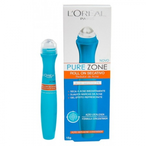 Roll On Secativo Anti-Acne LOREAL 15g