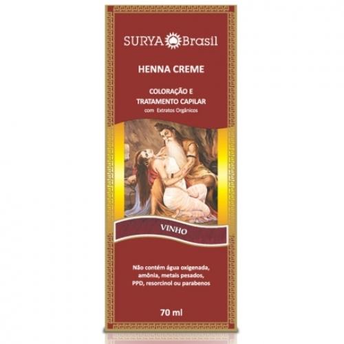 Surya Henna Creme Vinho 70ml