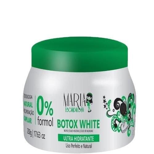 BOTOX WHITE 0% FORMOL MARIA ESCANDALOSA 250G