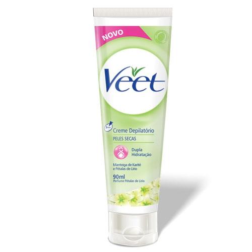 Creme Depilatório Veet para Peles Secas com 90 ml