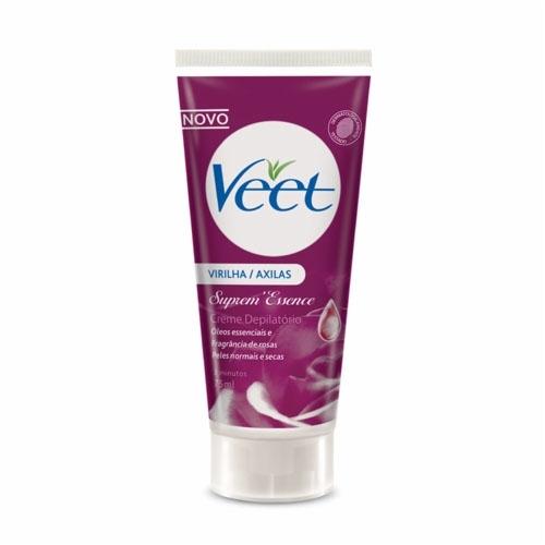 Creme Depilatório Veet Suprem Essence para Peles Normais e Secas com 75 ml