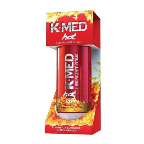 LUBRIFICANTE ÍNTIMO HOT K-MED 200ML