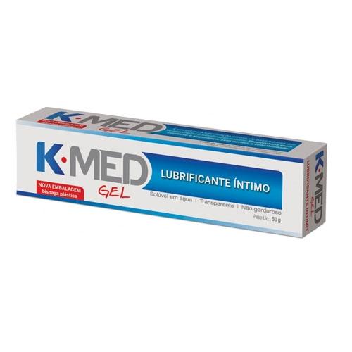 LUBRIFICANTE ÍNTIMO GEL K-MED 50GR