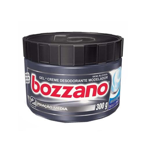 Gel Creme Modelador Bozzano Fixação Média com 300 g