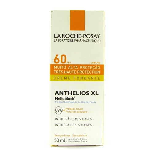 La Roche-Posay FPS 60 Anthelios XL Muito Alta Proteção Sem Perfume com 50 ml