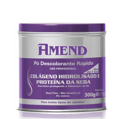 Amend Pó Descolorante Colágeno e Proteína da Seda 300g