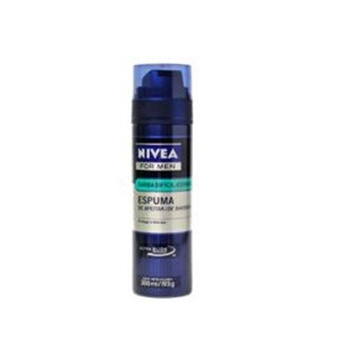 Espuma de Barbear Nivea Refrescante com 193 gramas
