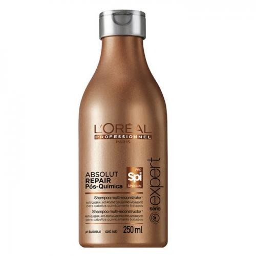 L'Oréal Shampoo Multi-Reconstrutor Absolut Repair Pós-Química 250ml