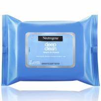 Neutrogena Deep Clean Lenço Umedecido de Limpeza 25 Unid